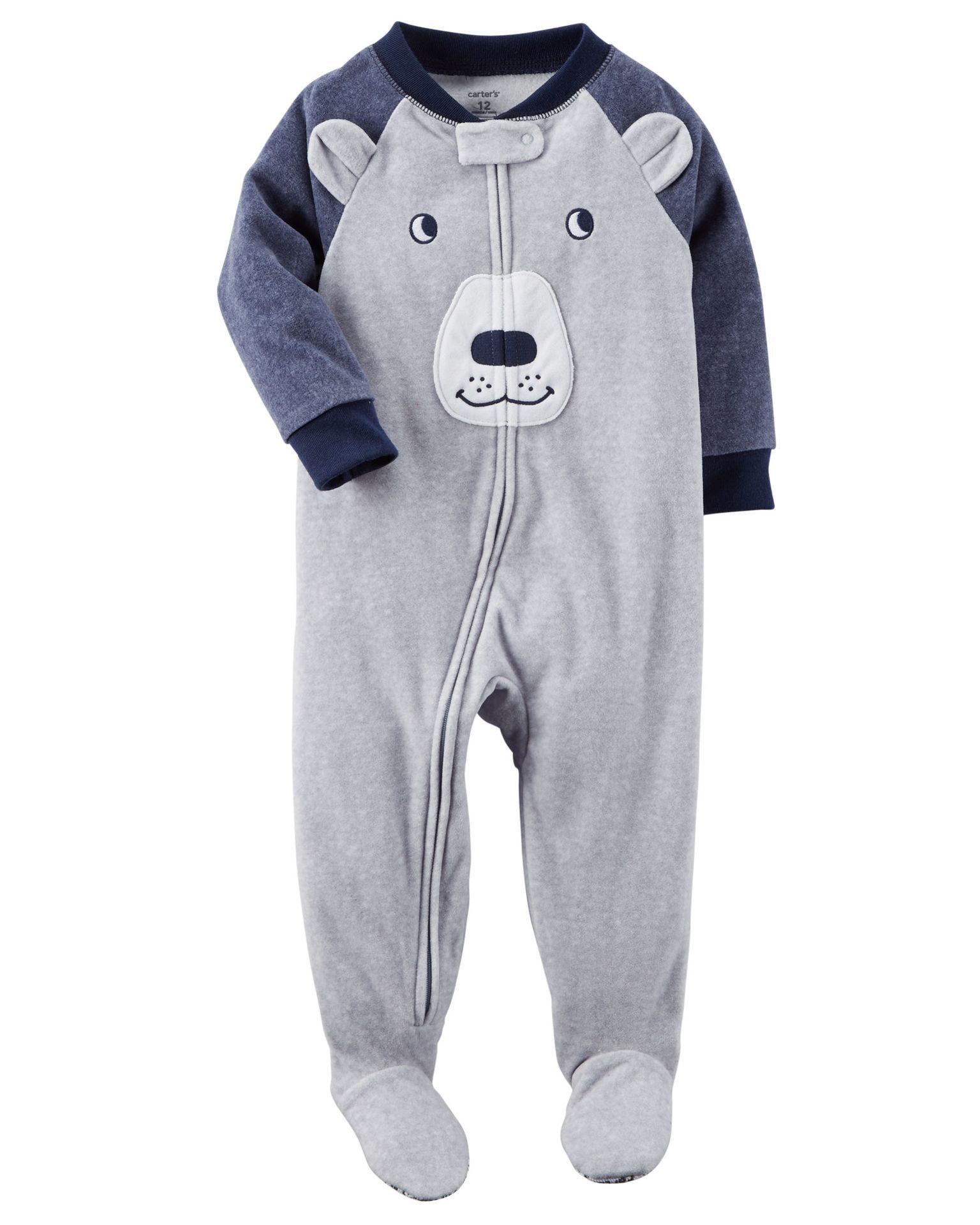 Флисовая пижама медведь Carter s(Картерс) d40804aa6eff2