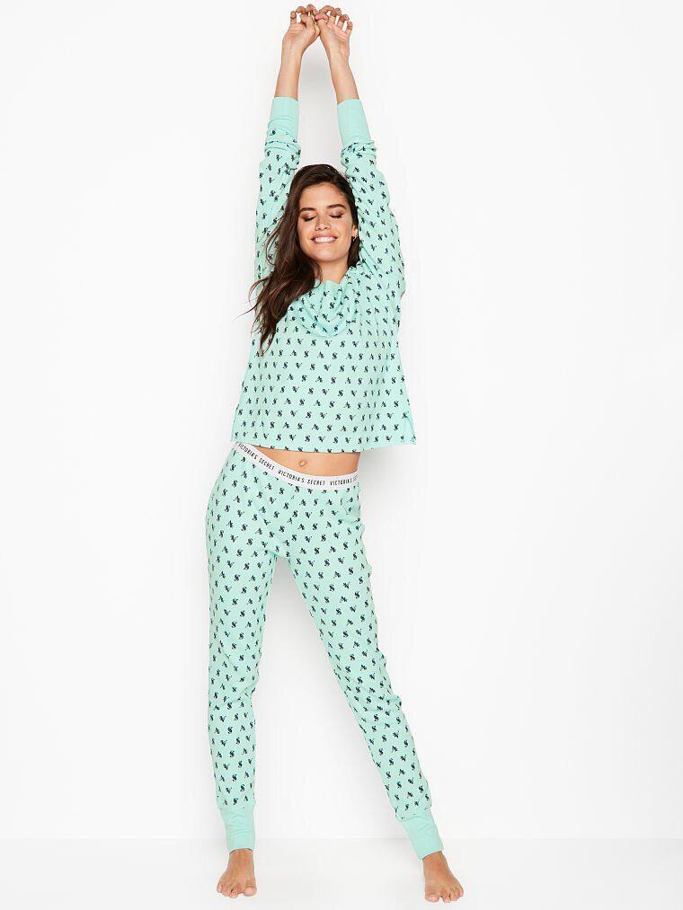 Модная пижама термо-пижама Victoria s Secret 4cae3c28693e3