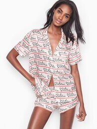 d1af15fa831a Сатиновая пижама с шортами от Victoria's Secret The Short Satin Pajama