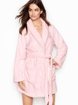 Короткий халат The Cozy Victoria's Secret